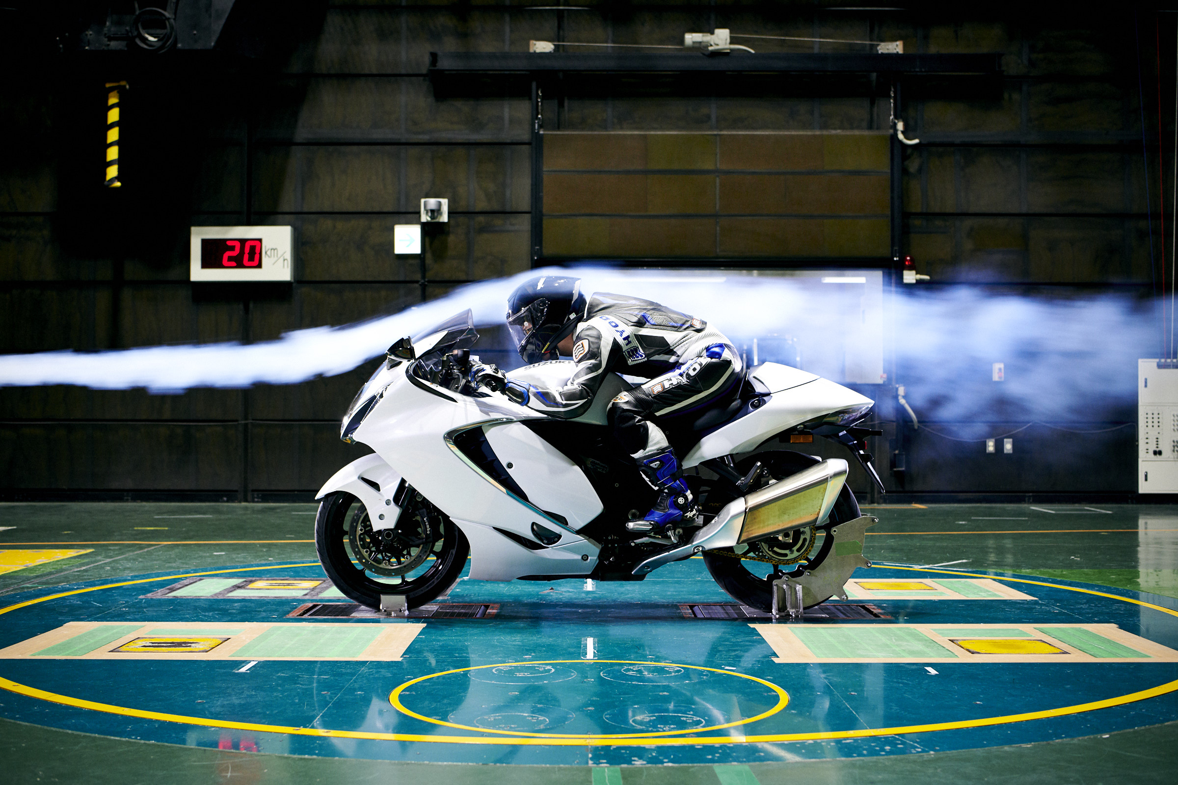 Suzuki hayabusa aerodinamika
